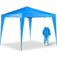 Pop Up Gazebo Marquee Awning Canopy 3 x 3 m Light Blue