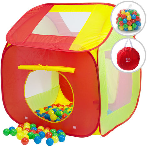 Pop Up Play Tent Ball Pit 200 Balls included