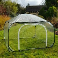 Pop Up Poly Cage & Greenhouse (Various Sizes Available)