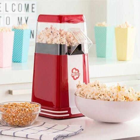 POPCORN MAKER : Machine à Pop-Corn Retro Rouge 1200W