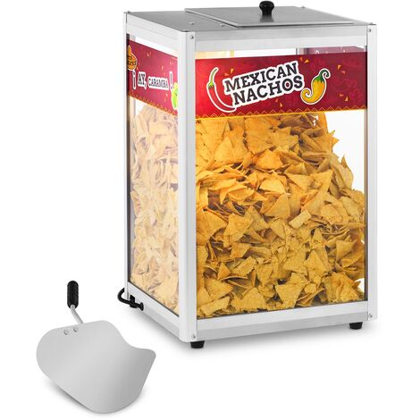 Popcorn Nacho Peanut Station Maker Machine Warmer Commercial Grade Merchandiser