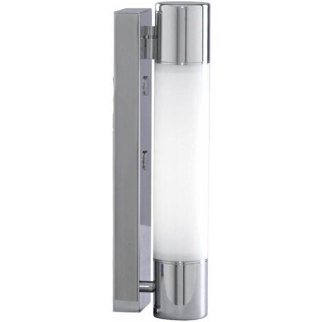 Poplar LED bathroom wall light ip44 chrome