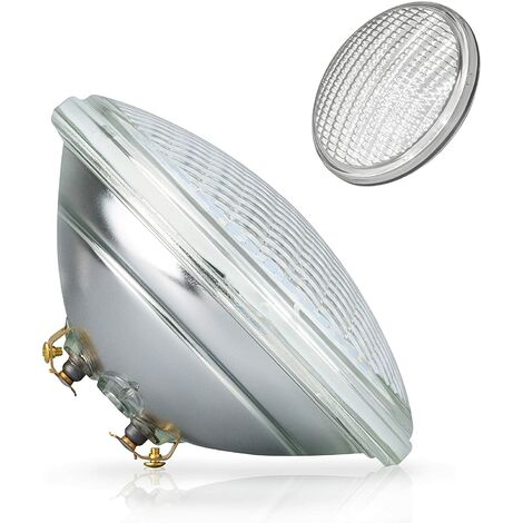 POPP® Bombilla LED Sumergible PAR56 decorativa piscina IP68 Vidrio RGB 18W 36W Blanco