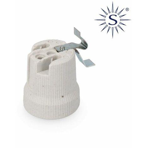 PORCELAINE PORCELAINE E-27 PORTE-LAMPES POUR PLAFOND