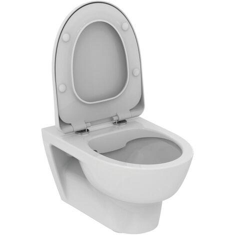 Porcher Pack WC suspendu sans bride Okyris + abattant softclose, blanc (P099801)
