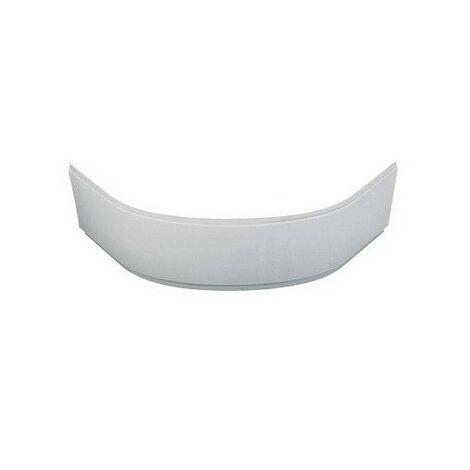 Porcher - Tablier frontal d'angle pour baignoire Ulysse 135x135 cm en acrylique blanc