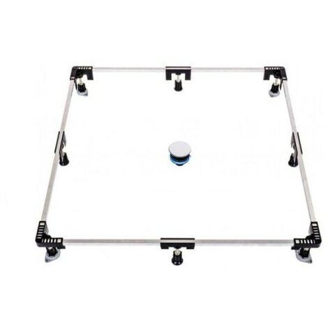 Poresta Ferroplast Montagerahmen 1200 für Duschwannen Stahl Acryl Nr. 86001003