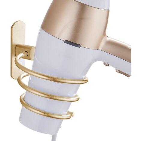 """main image of """"Porta-asciugacapelli, spazio in alluminio, porta-asciugacapelli, porta-asciugacapelli, porta-asciugacapelli, porta-asciugacapelli, porta-asciugacapelli, taglio capelli, punch gratuito, porta-asciugacapelli a spirale"""""""