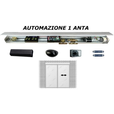 promozione aspetto dettagliato più amato Porta Automatica Scorrevole 1 Anta Con Accessori Ingresso Automatico 24V Dfm