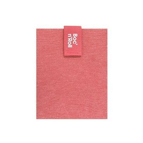 Porta bocadillos reutilizable Boc'n'Roll Nature Rojo