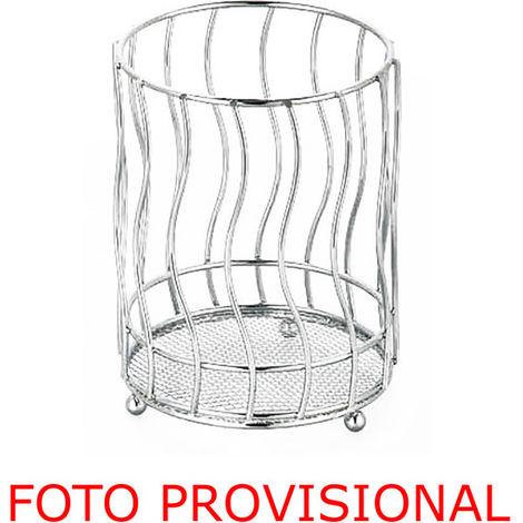 Porta Cubiertos Redondo Metal