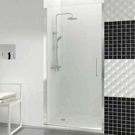"""main image of """"Porta doccia a battente GME Open da 60 cm con chiusura magnetica a parete"""""""
