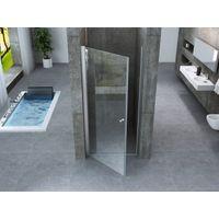Porta doccia battente saloon interno esterno cristallo 8mm trasparente h195 PERLA