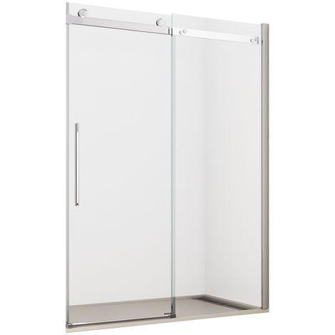 Porta doccia h195 cm anta scorrevole cristallo 8mm trasparente mitra