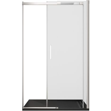 Porta doccia h200 cm anta scorrevole cristallo 8mm trasparente bella