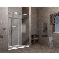 Porta doccia scorrevole nicchia cristallo 6mm ELISIR
