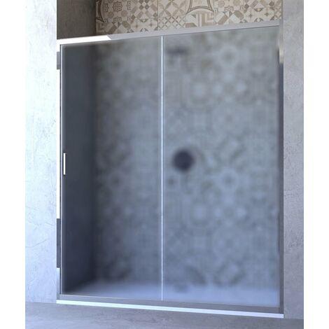 Porta doccia scorrevole opaco