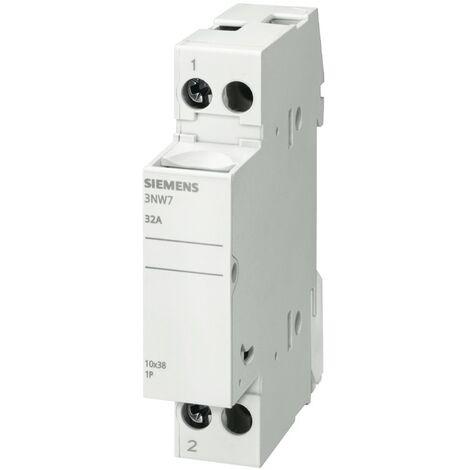 Porta fusibles Siemens cilíndrico 3NW7 1P 32A 10,3X38 1M 3NW7013