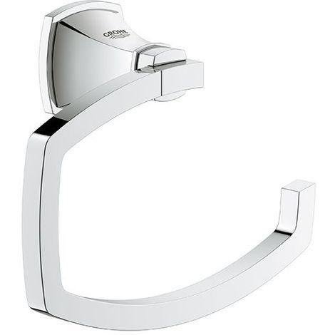 Porta papel higiénico Grohe Grandera, color: Cromo / Oro - 40625IG0