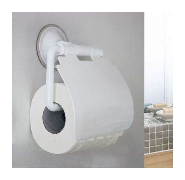 Portarotolo Carta Igienica Ventosa.Porta Rotolo Carta Igienica A Ventosa Niente Fori
