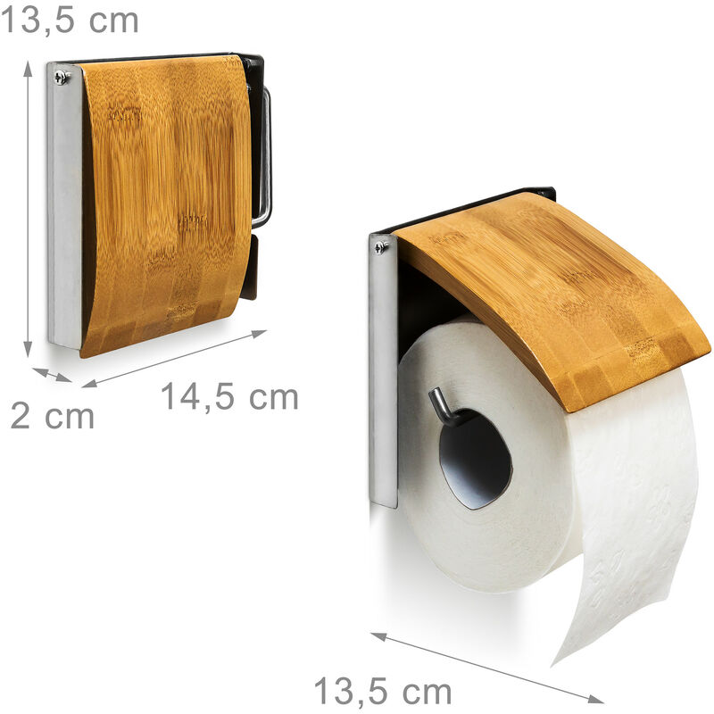 Wenko Dispenser Sapone 13.3 x 13.5 x 13.3 cm Poliresina Bianco