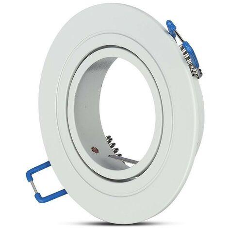 PortaAmpoule LED V-TAC da fleur Round GU10 et GU5.3 (MR16) Orientable
