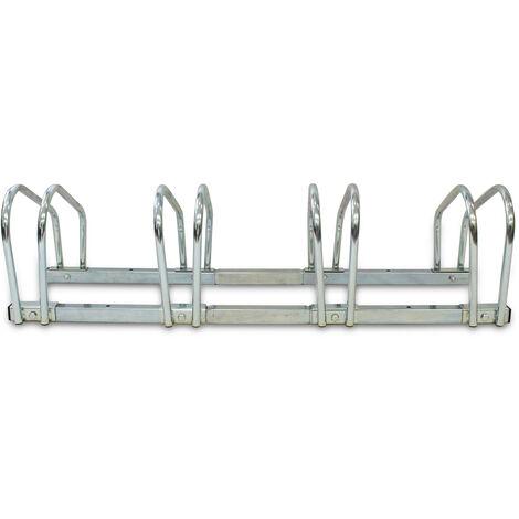 Portabiciclette, Portabici, Supporta 4 biciclette, Dimensione: 99 x 32 x 26 cm