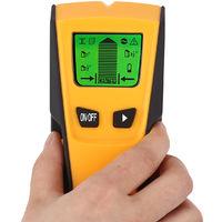 Portable 3 in1 Stud Wall Wood Center Finder Scanner Metal AC Live Rebar Detector