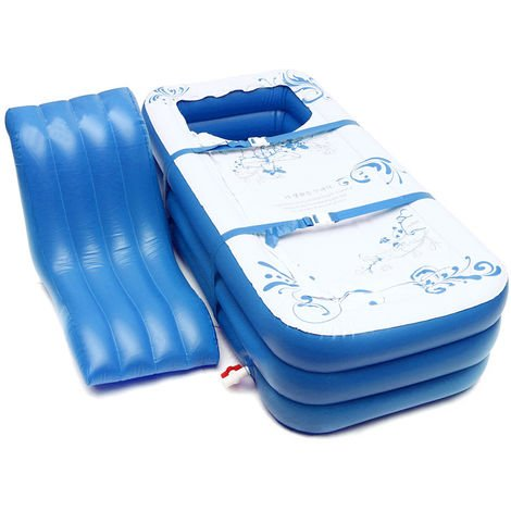 Portable Adults Children Pvc Inflatable Bathtub Soaking Bathtub Tub Spa Hot Blow Up