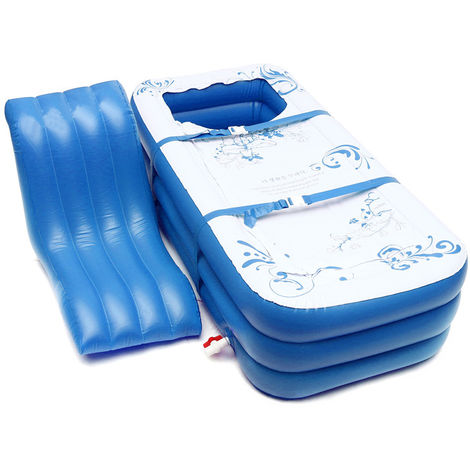 Portable Adults Children Pvc Inflatable Bathtub Soaking Bathtub Tub Spa Hot Blow Up