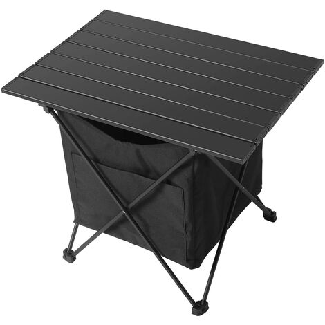 """main image of """"Portable Camping Table, Ultralight Aluminum Alloy Folding Table with Oxford Cloth Carry Bag for Picnic Beach BBQ Hiking Backyard Festival"""""""