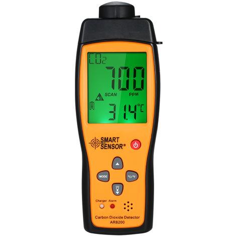 Portable Carbon Dioxide Co2 Detector Gas Tester