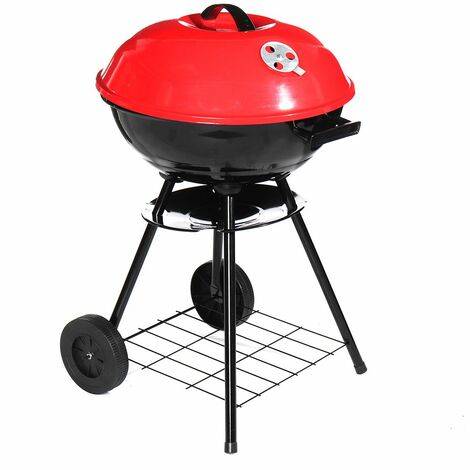 Portable Charcoal Barbecue 43cm Folding Barbecue Stove Camping
