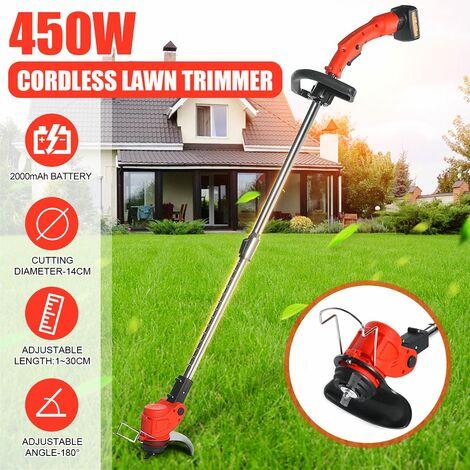 Portable Cordless Lawn Mower Electric Lawn Mower Lithium Battery Garden Power Tools Lawn Mower Lawn Mower