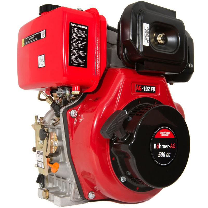 Image of 192-FD - Diesel Engine 11 HP Single Cylinder Motor - Portable Power - Böhmer-ag