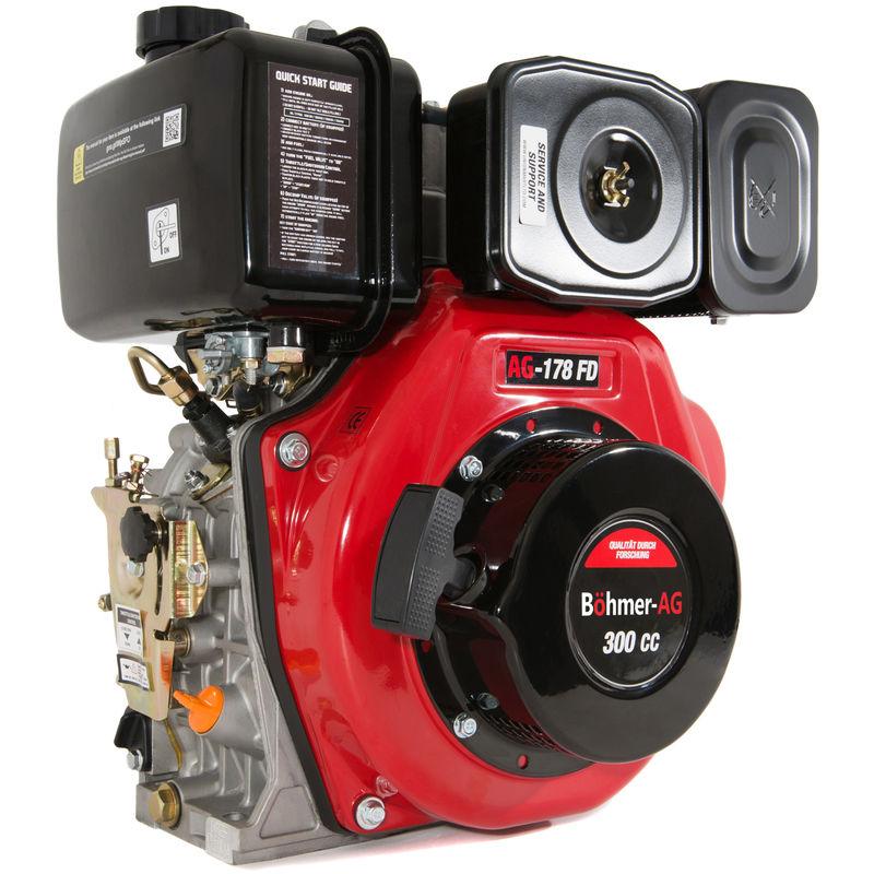 Image of 178-FD - Diesel Engine 6 HP Single Cylinder Motor - Portable Power - Böhmer-ag