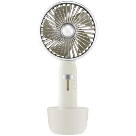 Portable Fan USB Rechargeable Air Cooler 3 Speed 2000mAh