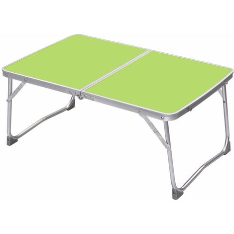 Portable Folding Picnic Table/Desk Bed Tray/Stand for Laptop Notebook Computer green