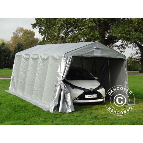 Portable Garage Garage tent PRO 3.3x6x2.4 m PE, Grey
