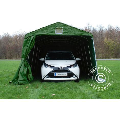 Portable Garage Garage tent PRO 3.3x6x2.4 m PVC, Green