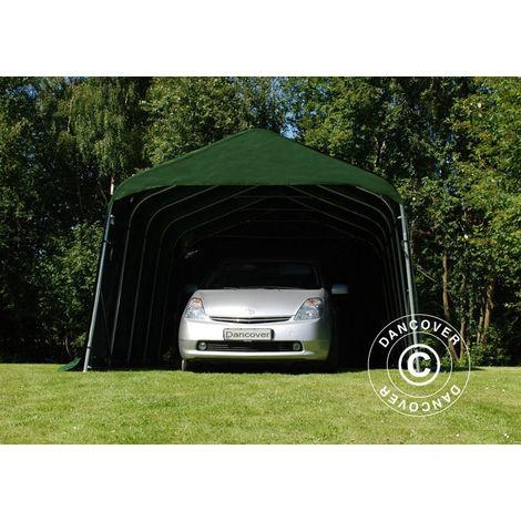 Portable Garage Garage tent PRO 3.6x4.8x2.68 m, PVC, Green