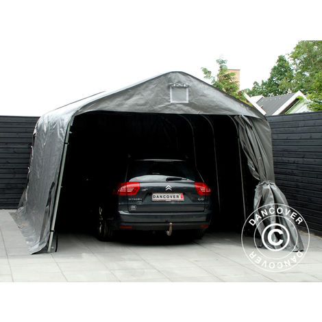 Portable Garage Garage tent PRO 3.6x6x2.68 m PE, Grey