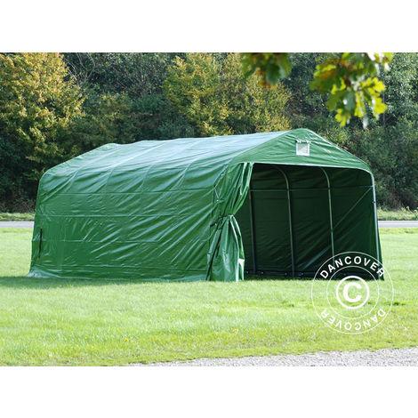 Portable Garage Garage tent PRO 3.6x6x2.68 m PVC, Green