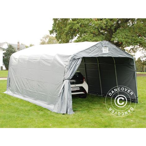 Portable Garage Garage tent PRO 3.6x6x2.68 m PVC, Grey