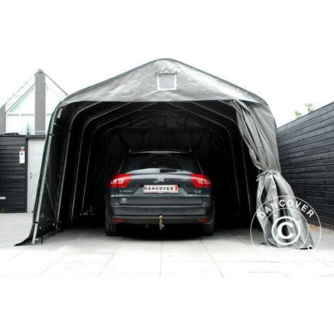 Portable Garage Garage tent PRO 3.6x7.2x2.68 m PE, Grey