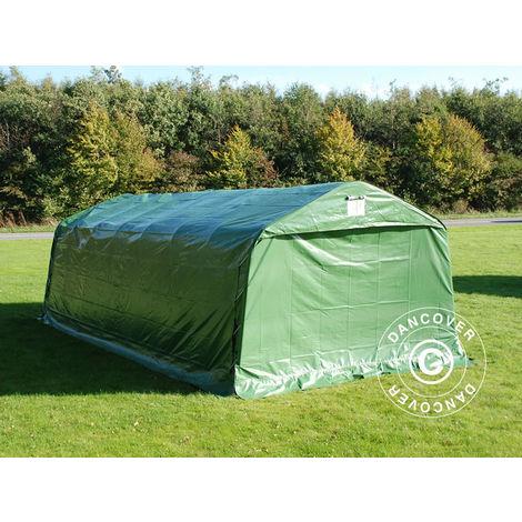 Portable Garage Garage tent PRO 3.6x8.4x2.68 m PVC, Green