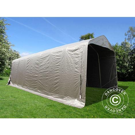 Portable Garage Garage tent PRO 3.77x9.7x3.18 m PE, Grey