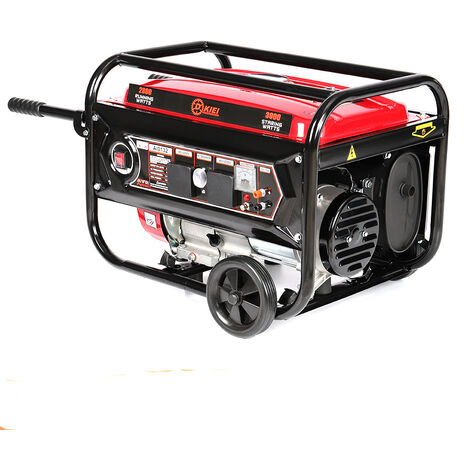 Portable Generator Petrol 3000W 3KW Silent Plug 7HP Engine Camping Power 4.0KVA