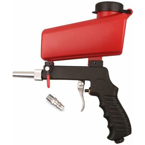 Portable Gravity Pneumatic Sprayer Gun Set Home DIY Mini Blasting Device Airbrush Sandblaster Adjustable Sandblasting Machine