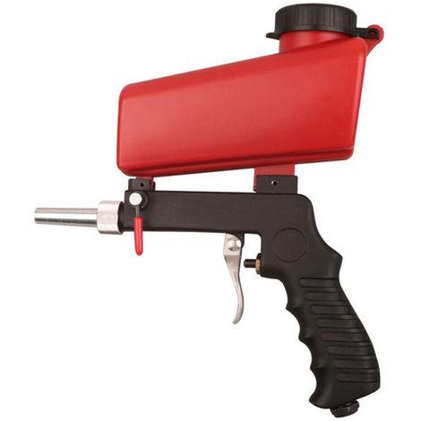 Portable Gravity Pneumatique Set Home Diy Mini Blasting Appareil 90Psi Sableuse Antirouille Reglable Machine Sablage